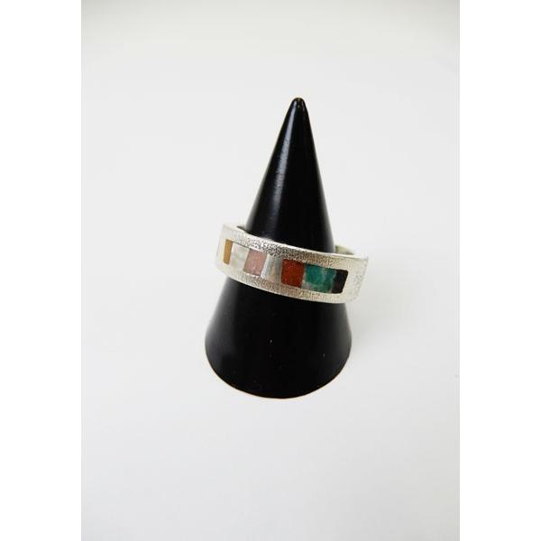 激安商品 Indian Jewelry(インディアンジュエリー)TsunaiHaiya(ツナイハイヤ) Sunbow Sunbow Ring Indian Ring Narrow#18号, 鏡町:c37513a4 --- airmodconsu.dominiotemporario.com
