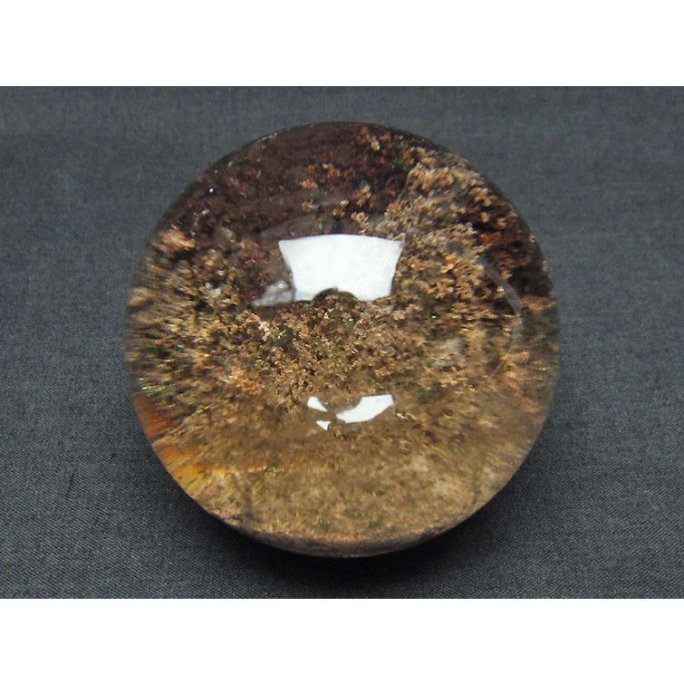 ガーデンクォーツ(庭園水晶) 丸玉 58mm  t637-3667 seian 03