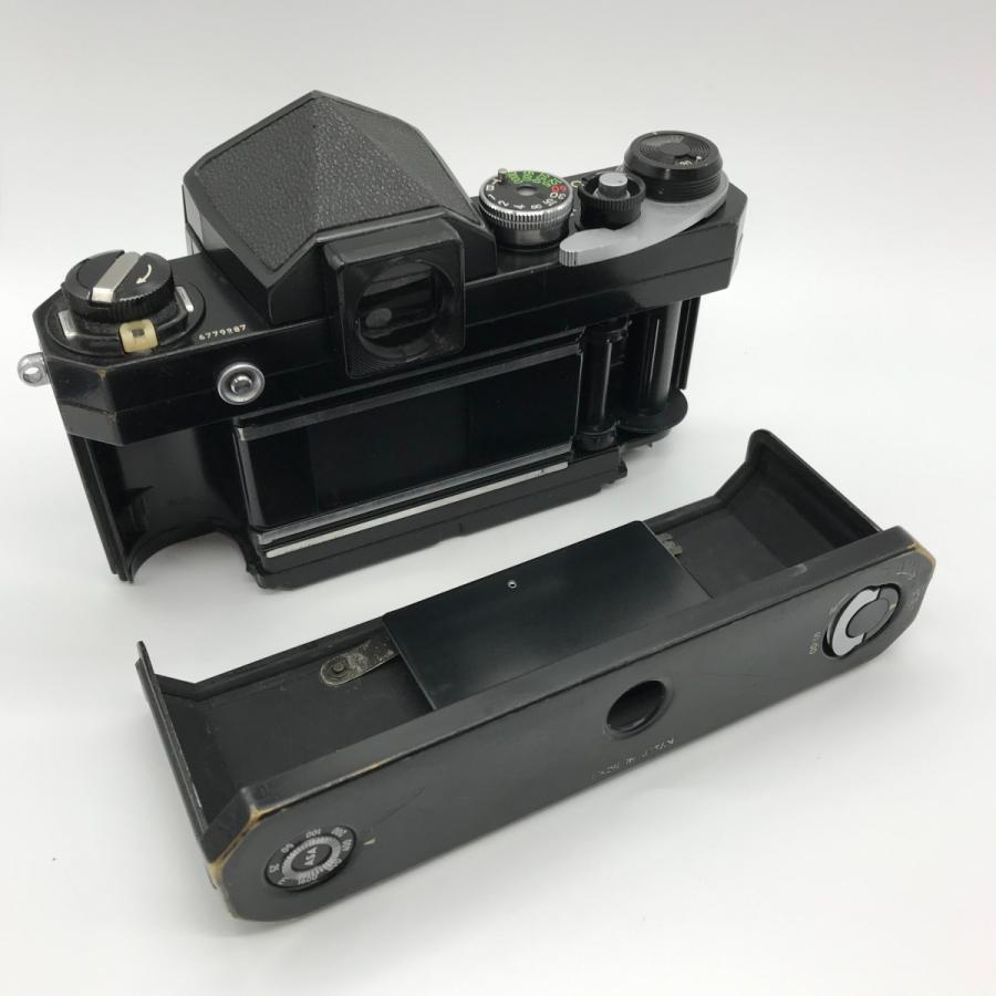 Nikon F Eyelevel Finder Black Paint NIKKOR-H Auto 28mm F3.5 ニコンF アイレベルファインダー ブラックペイント 黒塗り Fマウント|seibucamera|08
