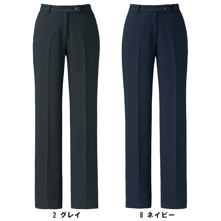 BONMAX ボンマックス AP6243 裾上げらくらくパンツ 5号〜15号 事務服 制服 【代引き不可】