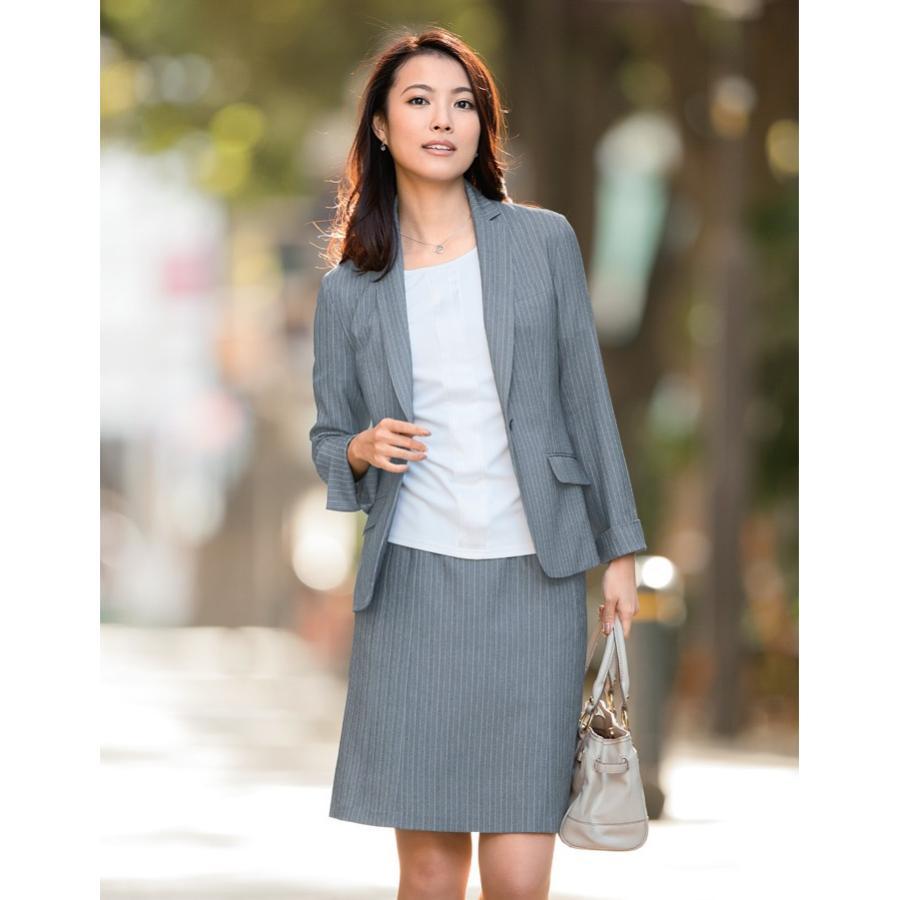 アイトス ピエ (Pieds) HCS4601 フレアースカート(54cm丈) 23〜29号 事務服 制服