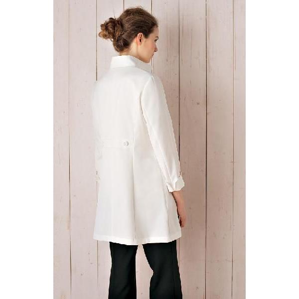エステサロン 歯科 衣料 美容制服 ユニフォーム CALALA(キャララ) CL-0189 (CL0189) コート[女] 5号〜15号