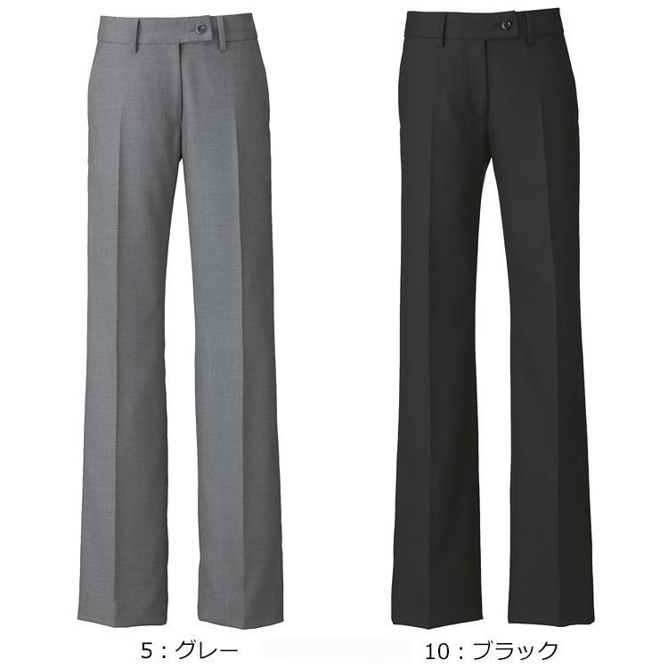 カーシー(karsee) enjoy EAL-585 フレアストレートパンツ 5号〜21号 事務服 制服