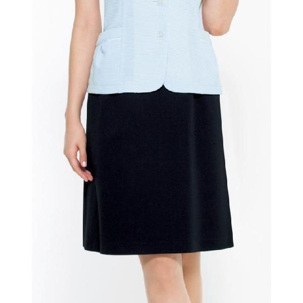 BONMAX ボンマックス LS2737 Flexy(フレキシー) Aラインスカート サイズ:7号〜15号 事務服 制服
