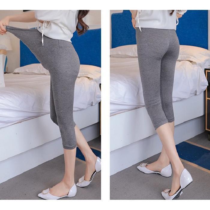 レギンス マタニティ 薄手 レディース パンツ 美脚 7分丈 伸びる 夏 大きいサイズ ストレッチ 柔らかい ゆったり ルームウェア 伸縮性 涼しい 送料無料 seii-shop 11
