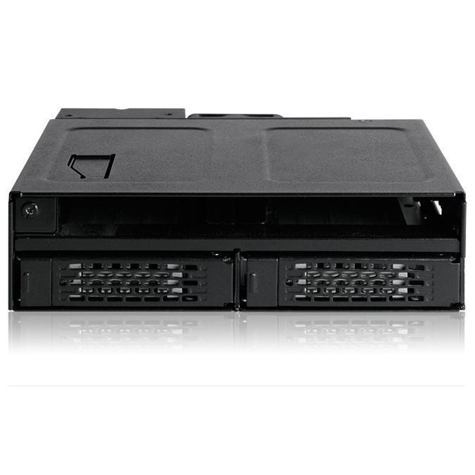 MB602SPO-B ToughArmor  リムーバブルケース  1 x 5インチベイ に 1 x Slim ODD + 2 x 2.5 インチ SATA SAS HDD SSD 搭載|seijinshoji|02