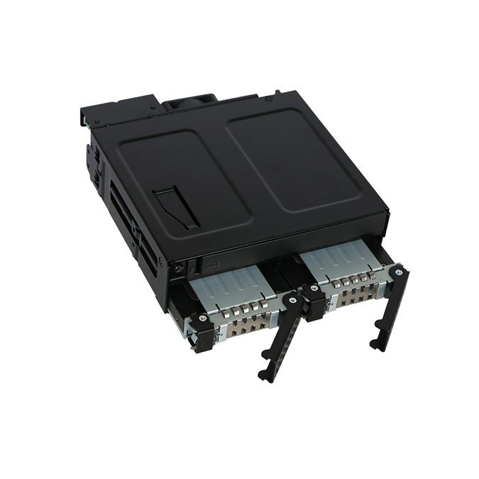 MB602SPO-B ToughArmor  リムーバブルケース  1 x 5インチベイ に 1 x Slim ODD + 2 x 2.5 インチ SATA SAS HDD SSD 搭載|seijinshoji|04
