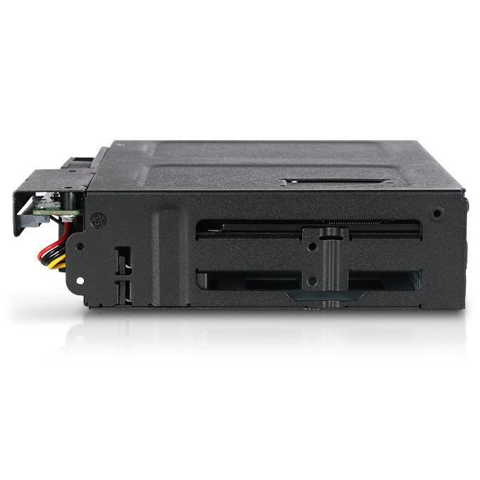 MB604SPO-B ToughArmor  リムーバブルケース  1 x 5インチベイ に 1 x Slim ODD + 4 x 2.5 インチ SATA SAS HDD SSD 搭載|seijinshoji|05
