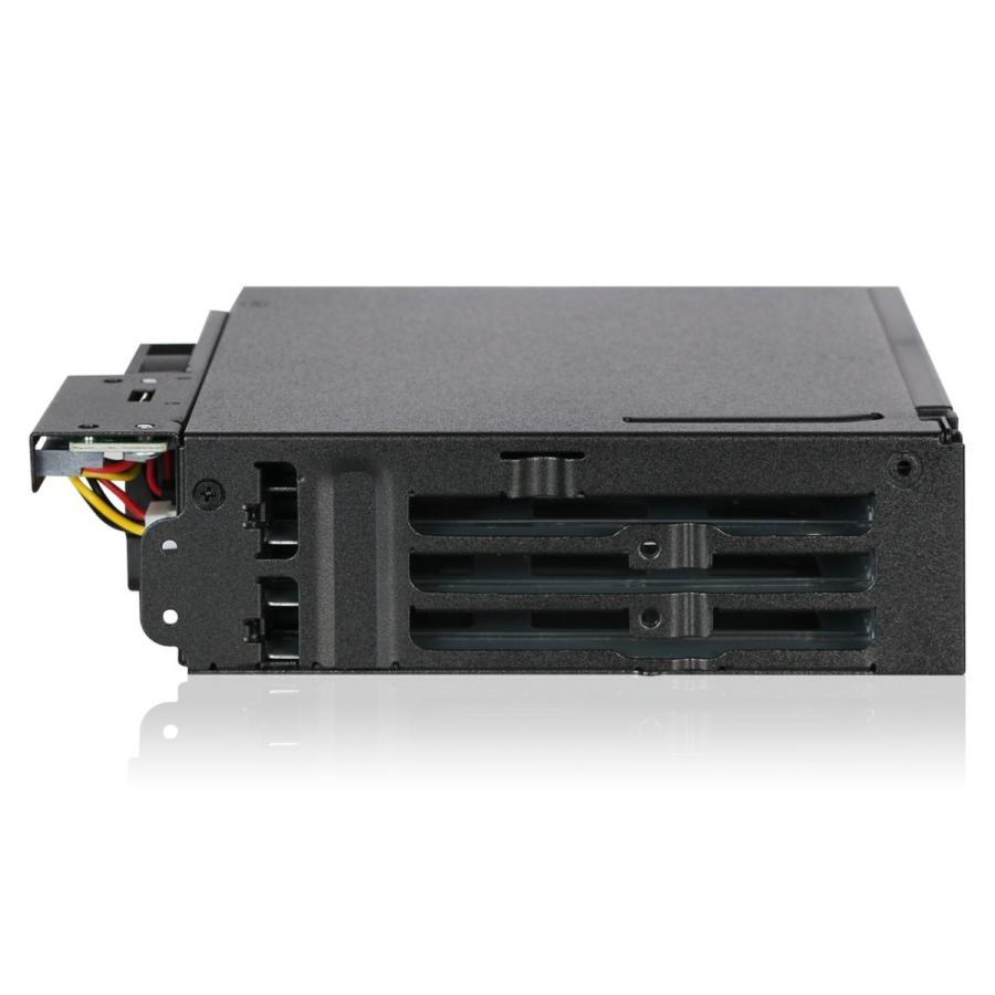 MB606SPO-B ToughArmor  リムーバブルケース  1 x 5インチベイ に 1 x Slim ODD + 6 x 2.5 インチ SATA SAS HDD SSD 搭載 seijinshoji 03