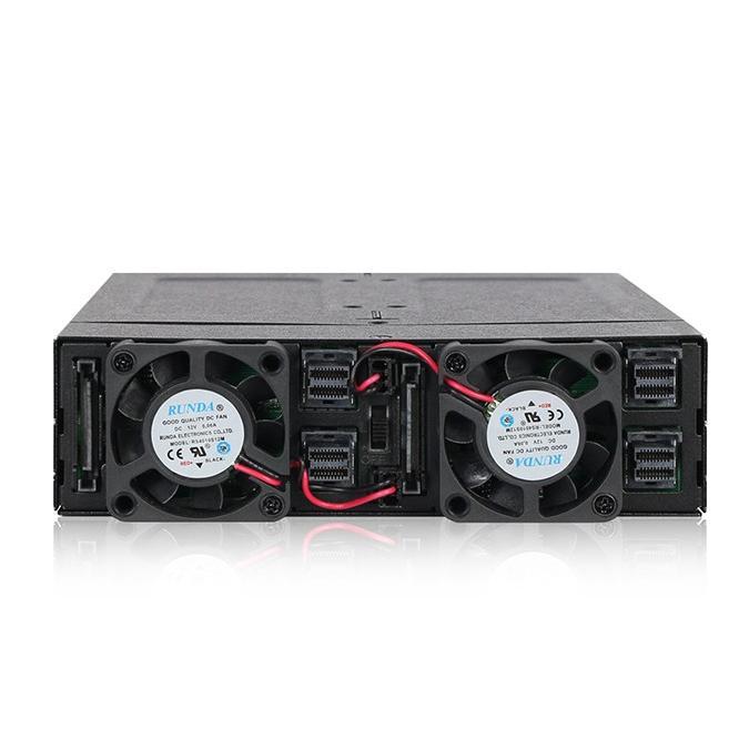 MB720M2K-B ToughArmor リムーバブルケース 1 x 5インチベイ に 4 x M.2 NVMe SSD 搭載 22110 対応|seijinshoji|03