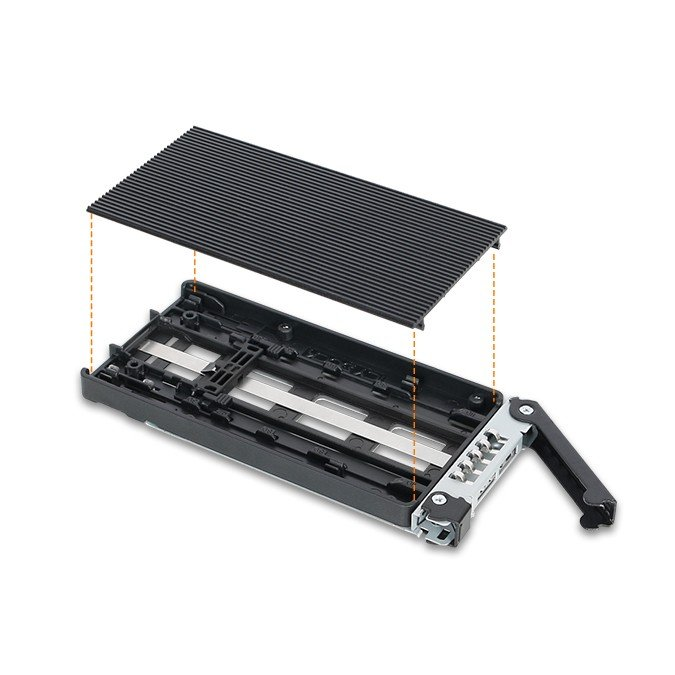 MB833M2K-B ToughArmor リムーバブルケース 1 x 3.5インチベイ に 1 x M.2 NVMe SSD 搭載 22110 対応 seijinshoji 05