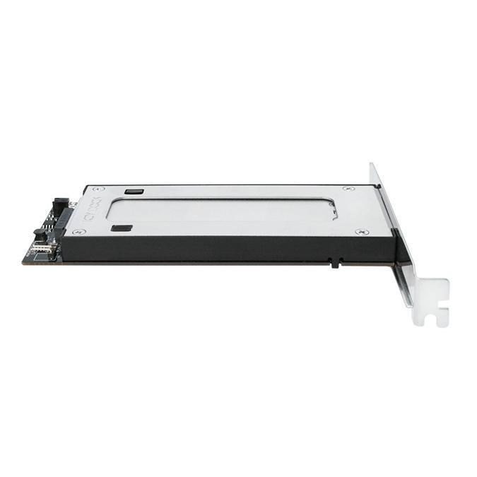 MB840M2P-B ToughArmor M.2 NVMe SSD リムーバブルケース PCIe 3.0 x4 32Gbps m.2 SSD を PCI eスロット に|seijinshoji|02