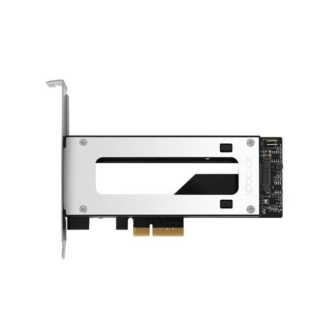 MB840M2P-B ToughArmor M.2 NVMe SSD リムーバブルケース PCIe 3.0 x4 32Gbps m.2 SSD を PCI eスロット に|seijinshoji|04