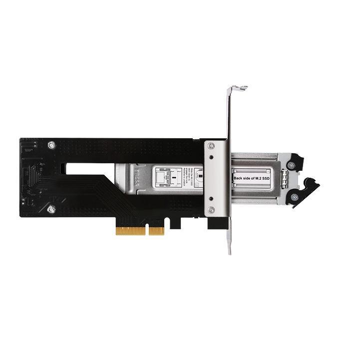 MB840M2P-B ToughArmor M.2 NVMe SSD リムーバブルケース PCIe 3.0 x4 32Gbps m.2 SSD を PCI eスロット に|seijinshoji|07