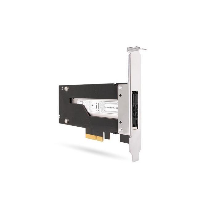 MB840M2P-B ToughArmor M.2 NVMe SSD リムーバブルケース PCIe 3.0 x4 32Gbps m.2 SSD を PCI eスロット に|seijinshoji|09