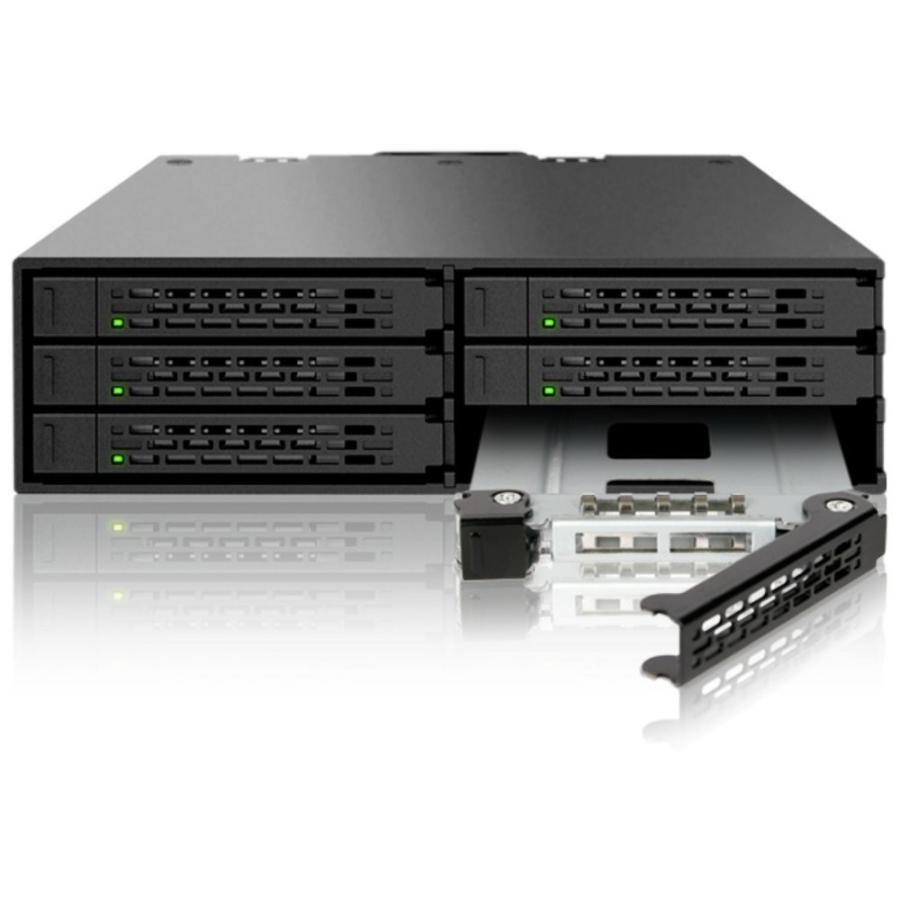 MB996SP-6SB リムーバブルケース 6 x 2.5インチ SATA 3 HDD / SSD 搭載可能 seijinshoji 02