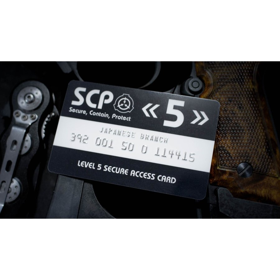 SCP財団 認証カード レベル5|seikastore|02