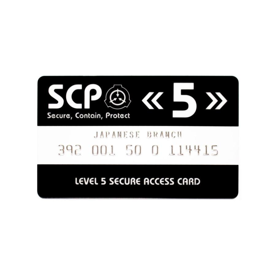 SCP財団 認証カード レベル5|seikastore|03
