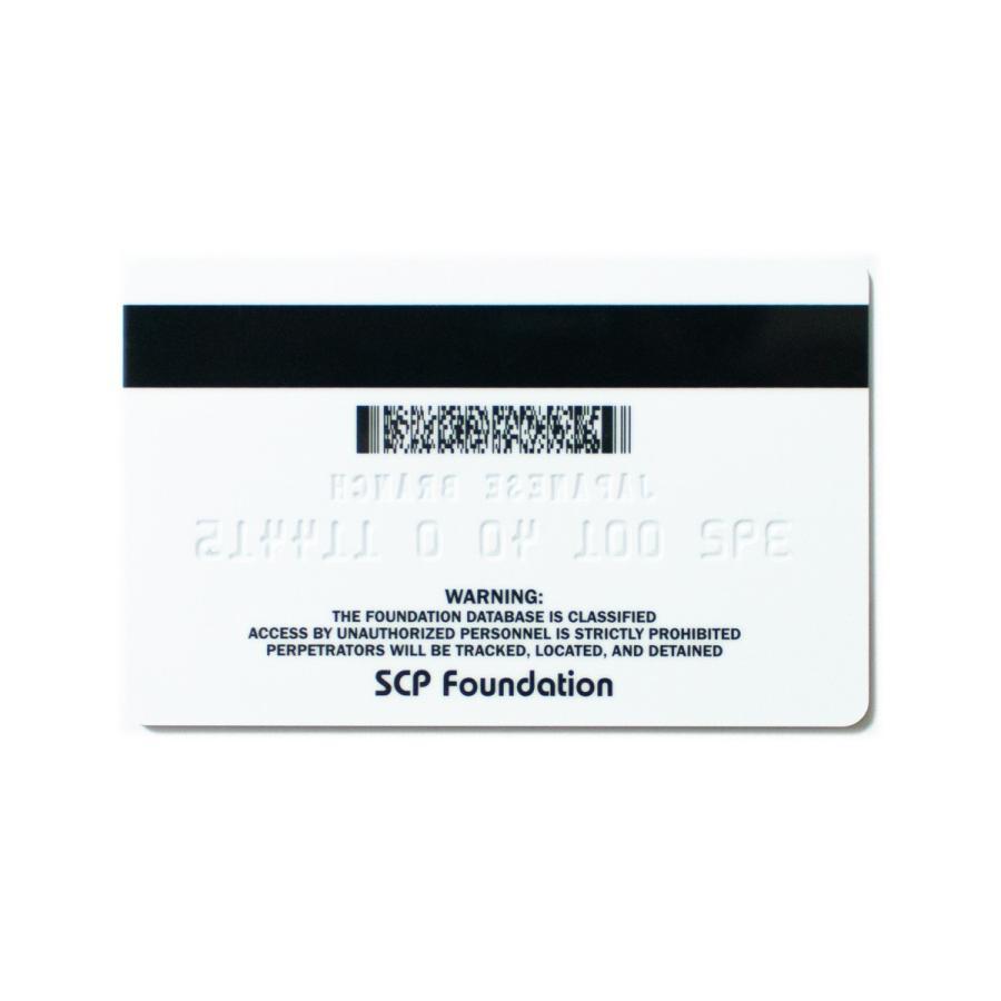 SCP財団 認証カード レベル5|seikastore|04