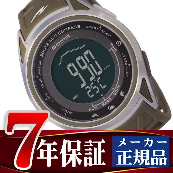 SOMA ソーマ ライドワン RideONE ソーラー アルチ コンパス SOLAR ALTI COMPASS 限定モデル 腕時計 メンズ レディース NS24701