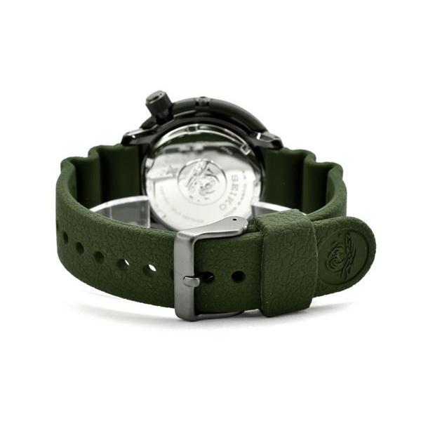 逆輸入 SEIKO PROSPEX STREET SERIES ストリートシリーズ ソーラー DIVER's200m メンズ 腕時計 ツナ缶 オリーブグリーンダイアル SNE535P1 seiko3s 03