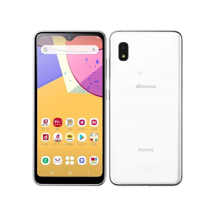 セイモバイル SIMフリーdocomo Galaxy アウトレット A21 ホワイト 品質検査済 新品未使用品 SC-42A