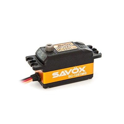 SAVOX SC-1251MG 最高品質 高速 デジタルサーボ 数量限定 コアレス サボックス日本総代理店 ☆新作入荷☆新品