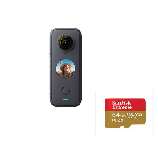 Insta360 ONE X2 + 64GB SDカード micro 日本 商品追加値下げ在庫復活