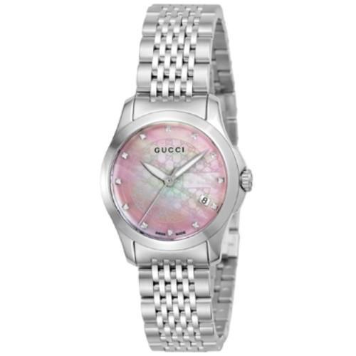 【新品】 GUCCI グッチ 腕時計 レディース YA126534 G-タイムレス, fofoca 98323a8a