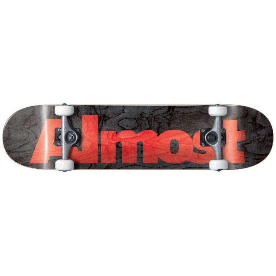 Almost Ultimate Logo Black 7.75 Resin Premium Complete Skateboard オールモスト スケボー コンプリート 送料無料