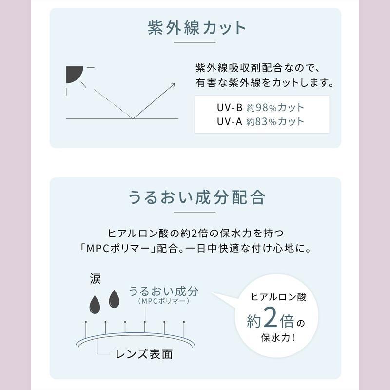カラコン エバーカラーワンデー ナチュラルモイストレーベルUV1箱20枚入り|select-eyes|10