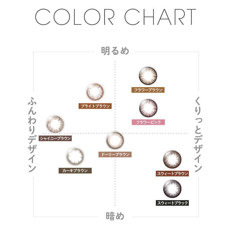 FAIRY 1day 〜フェアリーワンデー〜 /ワンデーカラコン(度なし/1箱6枚入り)小嶋陽菜さんイメージモデル|select-eyes|05