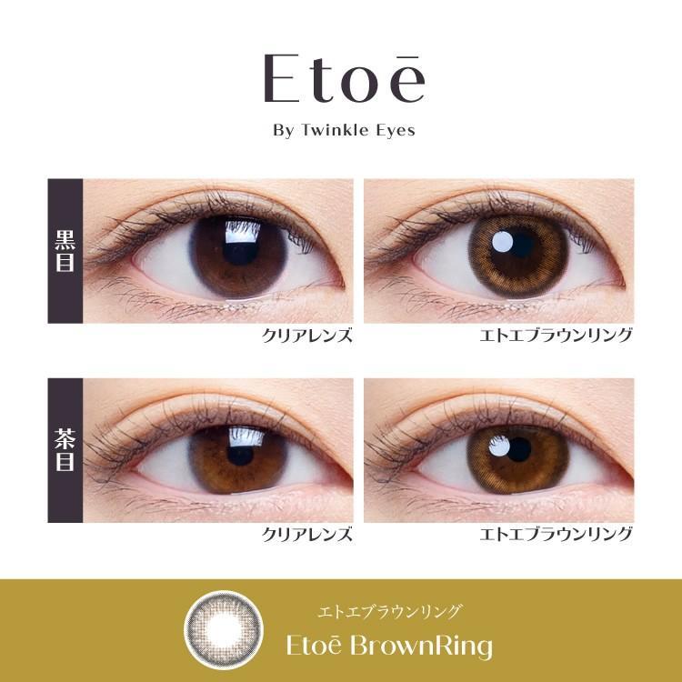 エトエ ワンデー カラコン - Etoe 1箱10枚/箱×2箱SET(ワンデーカラコン/全4色) select-eyes 02