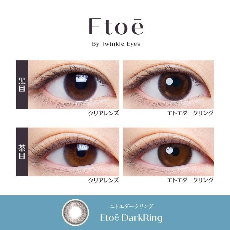 エトエ ワンデー カラコン - Etoe 1箱10枚/箱×2箱SET(ワンデーカラコン/全4色) select-eyes 03