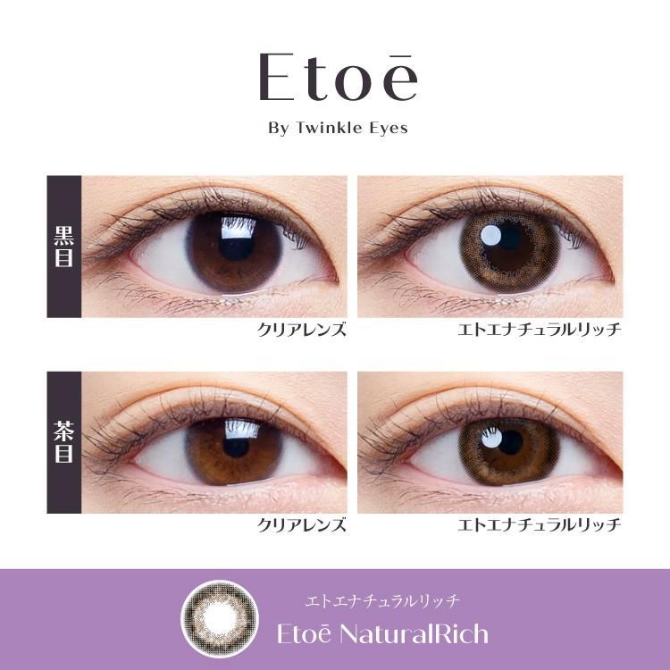 エトエ ワンデー カラコン - Etoe 1箱10枚/箱×2箱SET(ワンデーカラコン/全4色) select-eyes 04