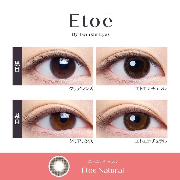 エトエ ワンデー カラコン - Etoe 1箱10枚/箱×2箱SET(ワンデーカラコン/全4色) select-eyes 05