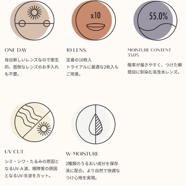 エトエ ワンデー カラコン - Etoe 1箱10枚/箱×2箱SET(ワンデーカラコン/全4色) select-eyes 06