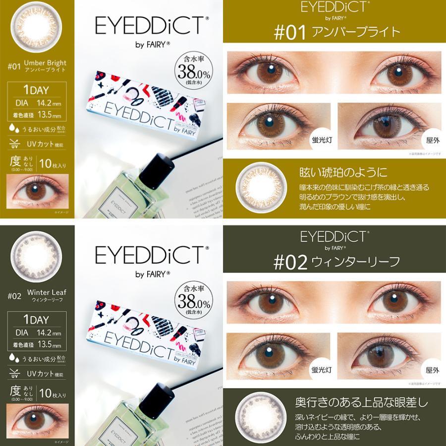 EYEDDiCT/アイディクト 度あり・度なし 2箱set/1箱10枚入り 全12色 1Dayカラコン|select-eyes|03
