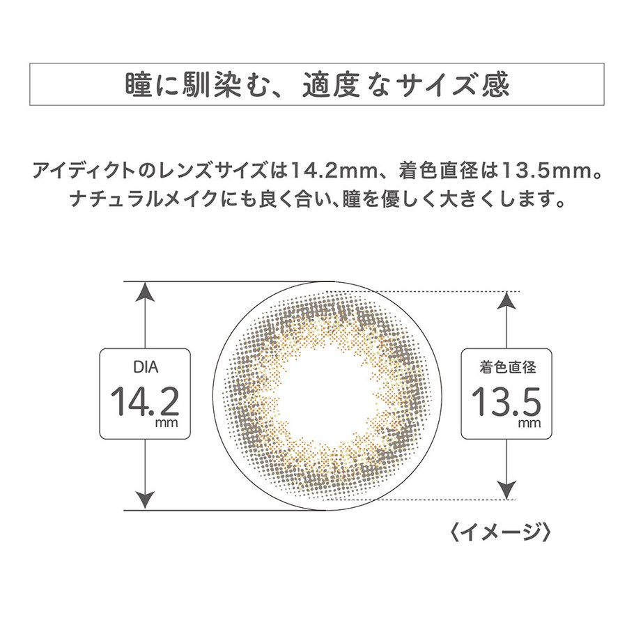 EYEDDiCT/アイディクト 度あり・度なし 1箱10枚入り 全12色 1Dayカラコン|select-eyes|12