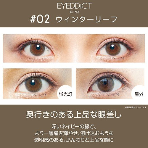 EYEDDiCT/アイディクト 度あり・度なし 2箱set/1箱30枚入り 全3色 1Dayカラコン|select-eyes|05