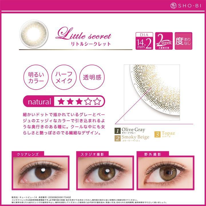 バービーbyピエナージュ 2WEEK 1箱6枚入/Barbie by PienAge 2week・6色 ( 度あり・度なし)|select-eyes|13
