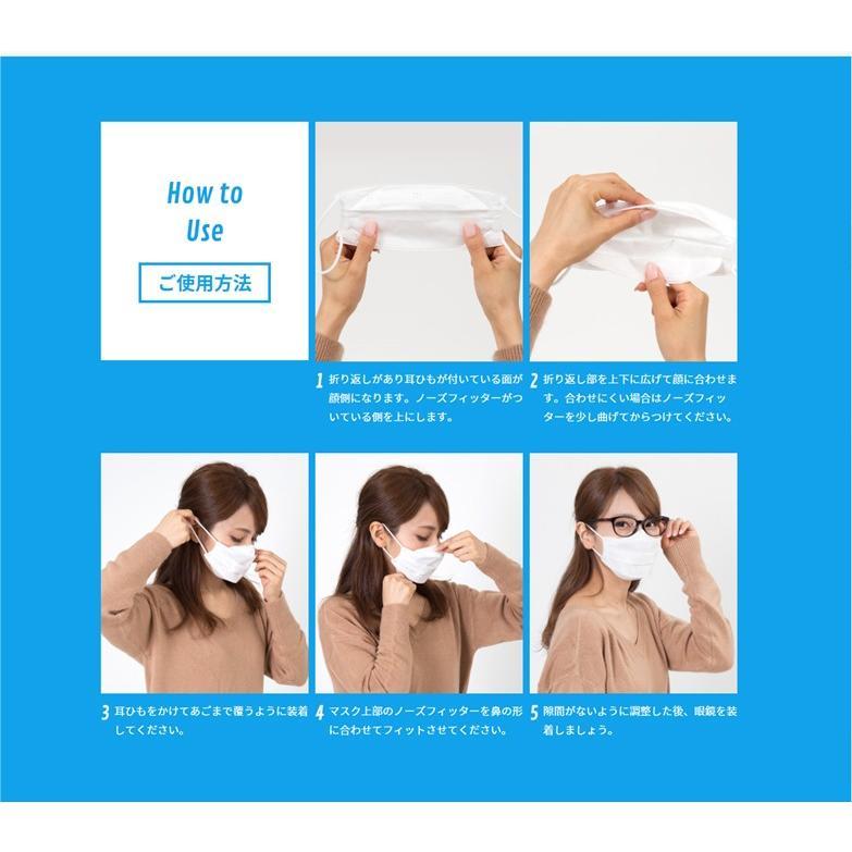 Ease Mask ZERO イーズマスク ゼロ レギュラー すこし小さめ くもり止め 曇り止め メガネのくもり止め 眼鏡 5枚入|select-s432|11