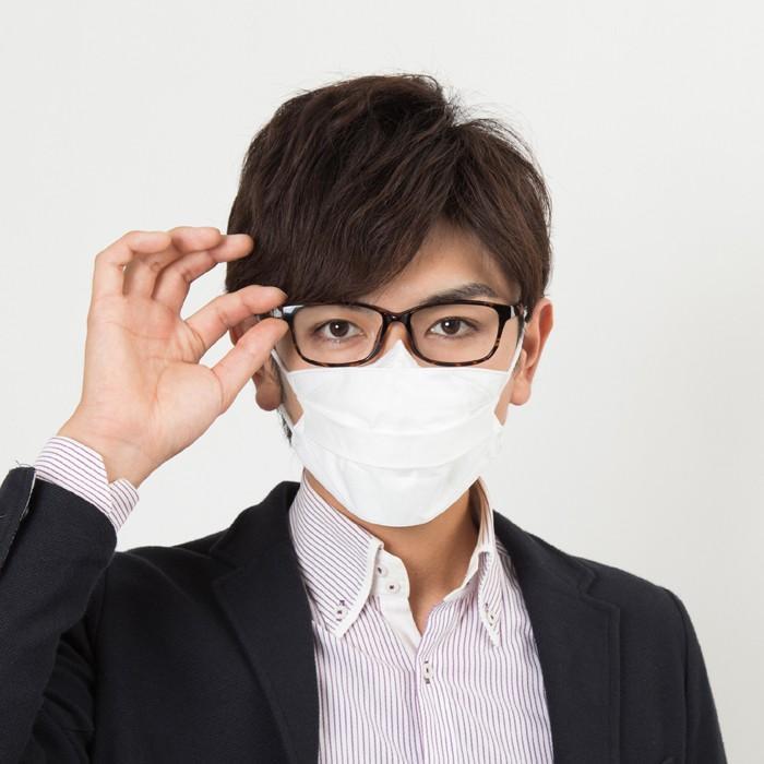 Ease Mask ZERO イーズマスク ゼロ レギュラー すこし小さめ くもり止め 曇り止め メガネのくもり止め 眼鏡 5枚入|select-s432|03