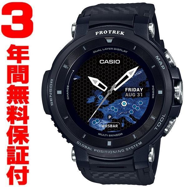 『国内正規品』 WSD-F30-BK カシオ CASIO スマートウオッチ GPS 腕時計 PRO TREK プロトレック ブラック|select-s432