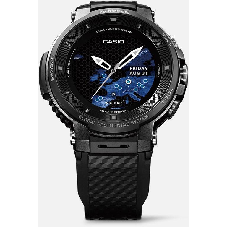 『国内正規品』 WSD-F30-BK カシオ CASIO スマートウオッチ GPS 腕時計 PRO TREK プロトレック ブラック|select-s432|02