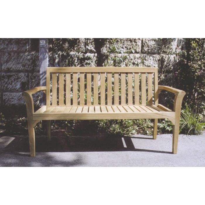 スタッキングベンチ W1500×H820×D550 ガーデンチェア ベンチ 木製 家具 椅子 イス テラス 庭 バルコニー diy 通販