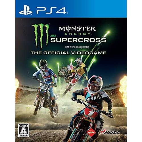 PS4 Monster Energy Supercross -The Official Videogame-