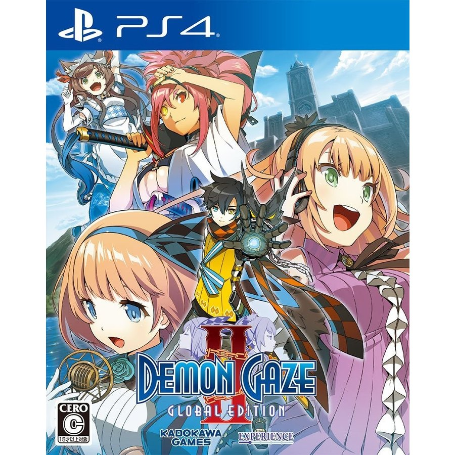 PS4 DEMON GAZE2 Global Edition