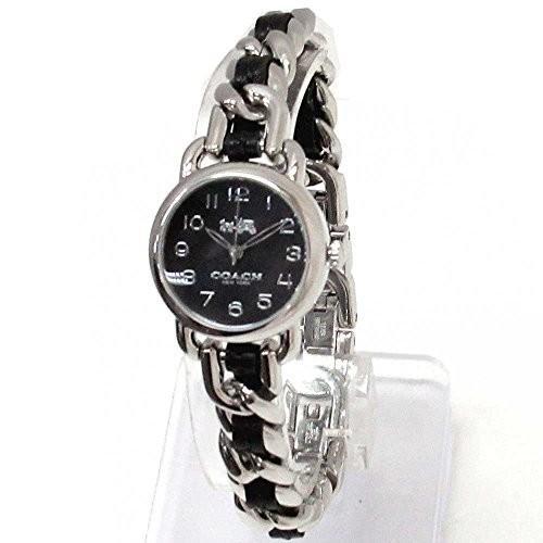 数量は多い  コーチ時計レディースCOACHアウトレットデランシーブラック×シルバーレザー腕時計14502725, YIZUMI伊泉:b85f5669 --- airmodconsu.dominiotemporario.com