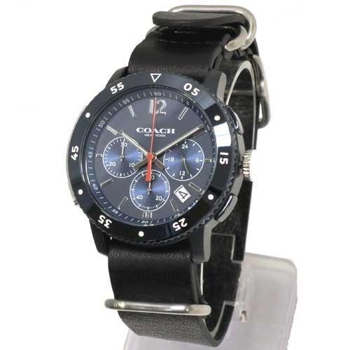 激安正規  コーチ時計メンズCOACHアウトレットブリーカースポーツクロノグラフレザーベルトメンズ/腕時計14602028n70707, オオネジメチョウ:d95f9d28 --- airmodconsu.dominiotemporario.com